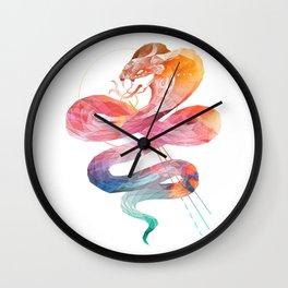 Spirit of the Cobra Wall Clock