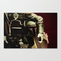 notorious Canvas Prints featuring Notorious by Gareth Payne