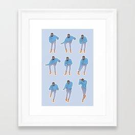 Hotline bling Framed Art Print