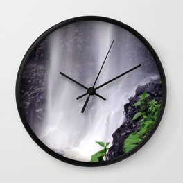 Whispering Waterfalls Wall Clock