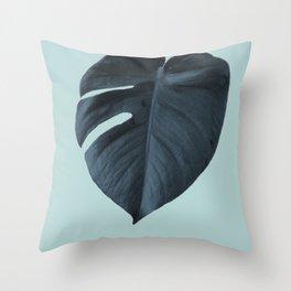 Monstera 01 Throw Pillow