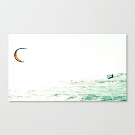 surf to infinity Canvas Print