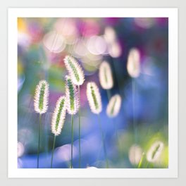 LET THERE BE COLOR Art Print