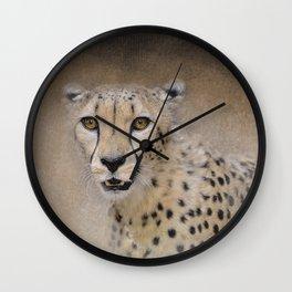The Cheetah - Wildlife Wall Clock