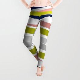 Colorful Strips Leggings
