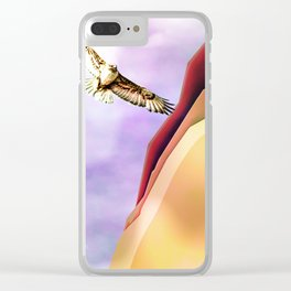 The Hawk Clear iPhone Case