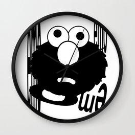 Emo Elmo Wall Clock