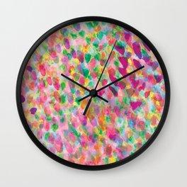 Mist Rose Wall Clock