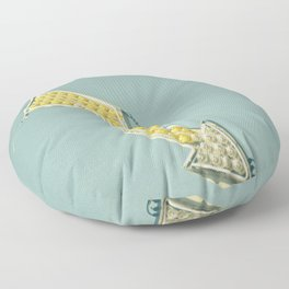 Golden Arrow Floor Pillow