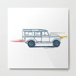 Classic Car: Off Road Metal Print