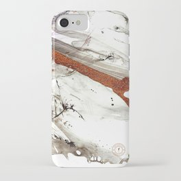 Of Snow and Stone iPhone Case
