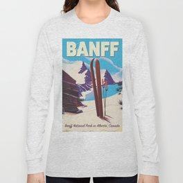 Banff National Park in Alberta Canada Long Sleeve T-shirt