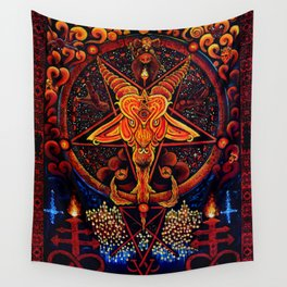 Worship No One Wall Tapestry
