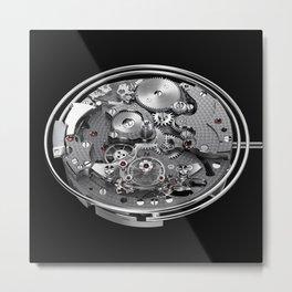 Clockwork Metal Print