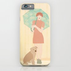 Girl and dog Slim Case iPhone 6s