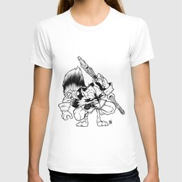 Raccoon of the galaxy T-shirt