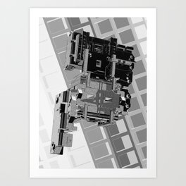 Mechanical 1 Art Print