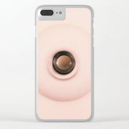 Voyeurism Clear iPhone Case