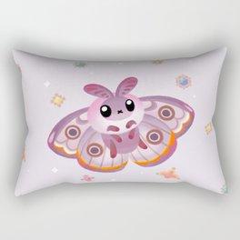 Marbled Emperor Moth Rectangular Pillow