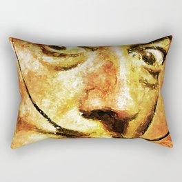 Dali's Eyes Rectangular Pillow