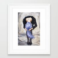 returns Framed Art Prints featuring Saturn Returns by Artist Andrea