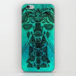 Ornate Patterned Elephant iPhone Skin