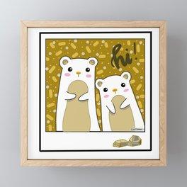 Prairie dawgs Framed Mini Art Print
