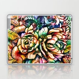 Skulls and Flower Laptop & iPad Skin