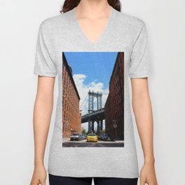 That Brooklyn View - The Empire Peek Unisex V-Neck