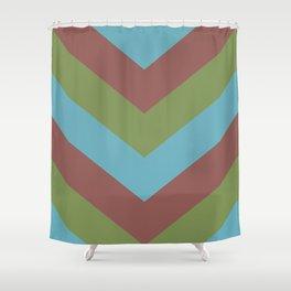 Pastel Pattern Shower Curtain
