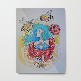 Life is the Flower for Which Love is the Honey Metal Print