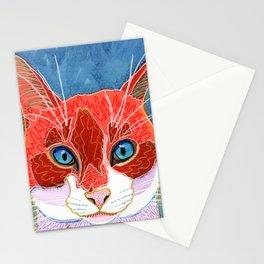 Lani - Pop Art Cat Portrait Stationery Cards