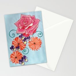 Grandma's Flowers Stationery Cards