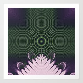 Fractal Beacon Art Print