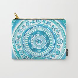 PEARLS OF WISDOM Mermaid Mandala Carry-All Pouch