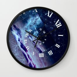 Time Warped Wall Clock