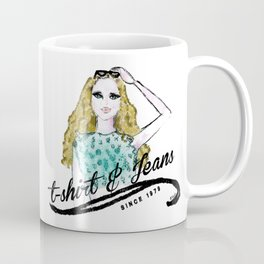 t-shirt&jeans Coffee Mug
