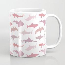 Pink Sharks Coffee Mug