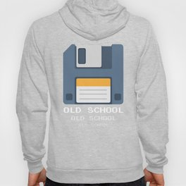 Old School Computer Floppy Diskette Hoody