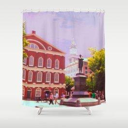 Faneuil Hall Shower Curtain