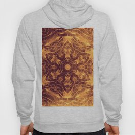 Abstract earth tone mandala Hoody