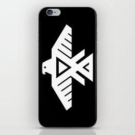 Thunderbird flag - HQ file Inverse iPhone Skin