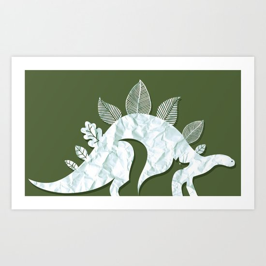 Creatures of nature Art Print