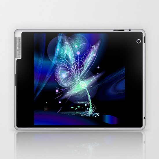 Galactic Butterfly Laptop & iPad Skin