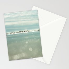 waves and sparkles Stationery Cards
