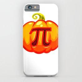 Math Teacher Halloween Costume Pumpkin Pi Pun Pie Gift Men  T Shirt iPhone Case