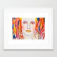 splatter Framed Art Prints featuring Splatter by Funkygirl4ever95
