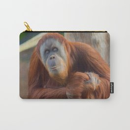 Who Dat? (digital painting) Carry-All Pouch