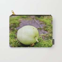 Green apple on green moss Carry-All Pouch
