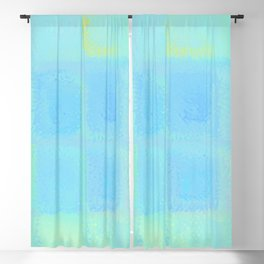 Rainbow Frosted Glass Pattern Blackout Curtain